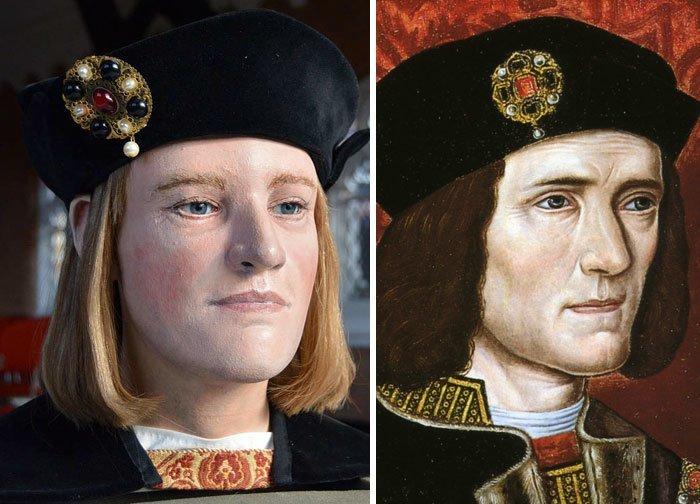 10. Ричард III, король Англии воссоздание, известные люди, история, лицо, люди прошлого, облик, реконструкции, реконструкция