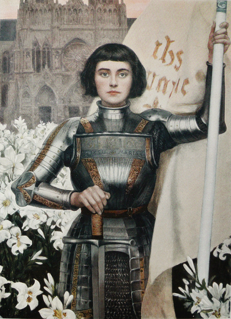 Жанна Д'Арк была на треть мужчиной
